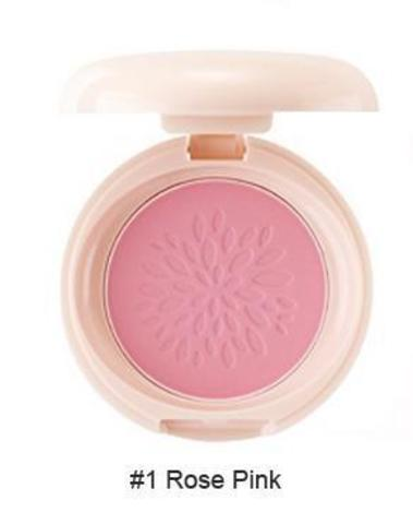 THE SAEM Румяна стойкие матовые 01 Sammul Smile Bebe Blusher 01.Rose Pink 6,5гр