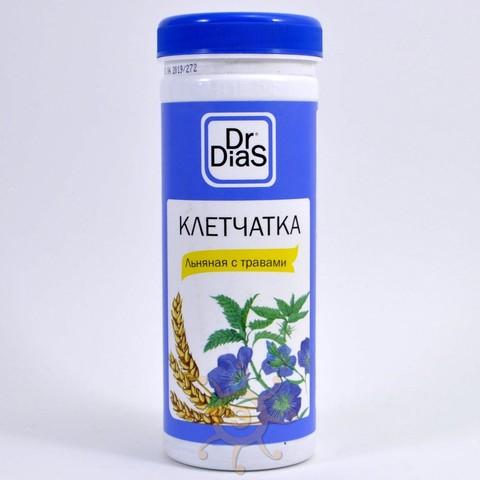 Клетчатка льняная с травами Dr.DiaS, 170г