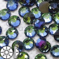 Купить оптом клеевые стразы Vitrail Green зелено-голубые
