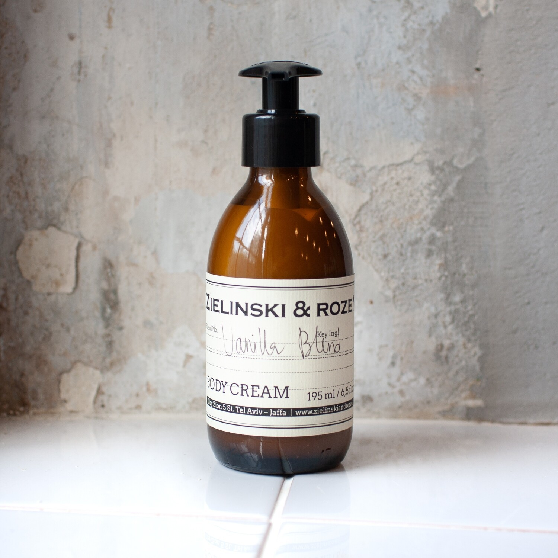 Крем для тела Vanilla Blend ZIELINSKI & ROZEN (195мл)