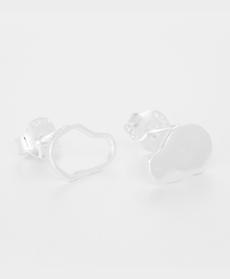 Серьги CLOUDS OF STONE silver
