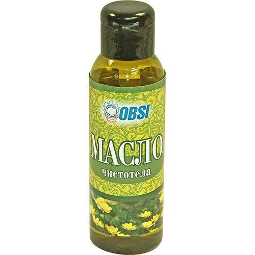 Косметическое масло чистотела