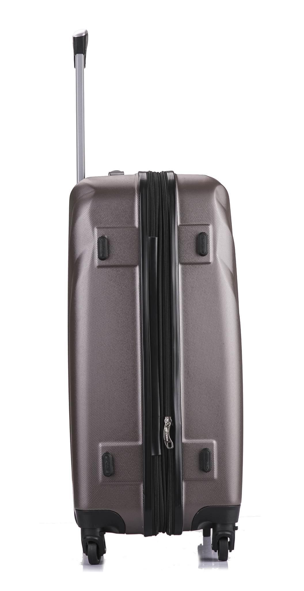 Чемодан с расширением L'case Phuket-28 Кофейный (XL)
