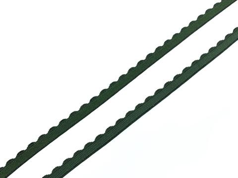 Резинка отделочная хаки 8 мм