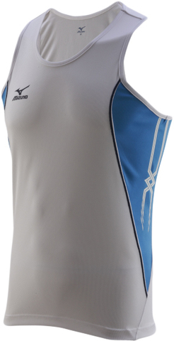 Майка Mizuno Team Running Singlet белая