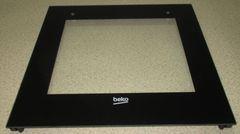 Внешнее стекло дверки духовки Beko 410300598
