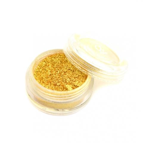 Пыль мерцающая мелкодисперсная №08 (темное золото)
