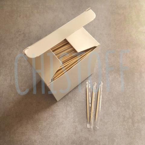 Зубочистки в индивидуальной ПЕ упаковке (1000 шт.)