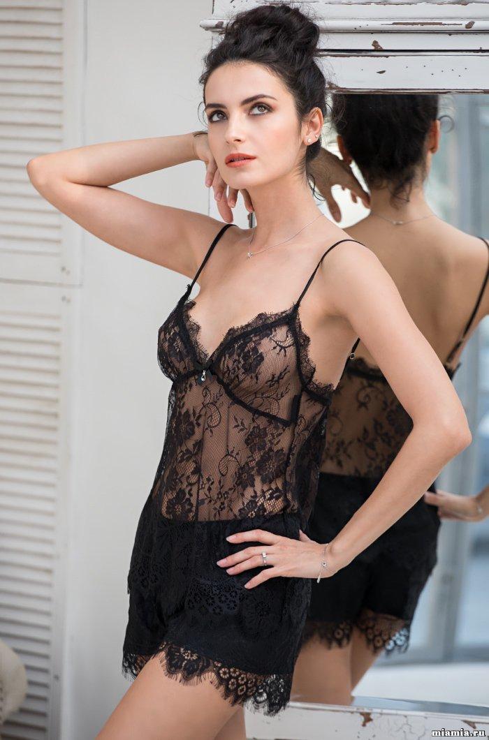 Эротическое белье Комплект с шортами  кружевной  MIA-Amore Шанель Fashion 2122 2122_2.jpg