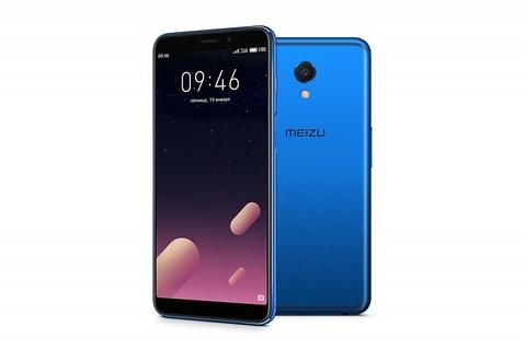 Meizu M6s  (3-32Gb) Blue | Голубой-синий