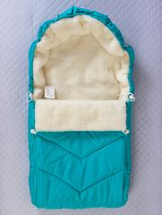 Конверт мешок в санки (бирюзовый)