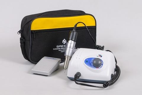 Аппарат для маникюра и педикюра Strong 210/120 с педалью в сумке (30 000 об/мин)