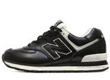 Кроссовки Мужские New Balance 574 Black White Leather 2