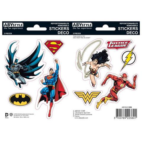 Наклейки ABYstyle: DC COMICS: Justice League