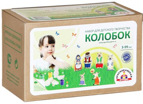 Краснокамская игрушка набор творчества Колобок