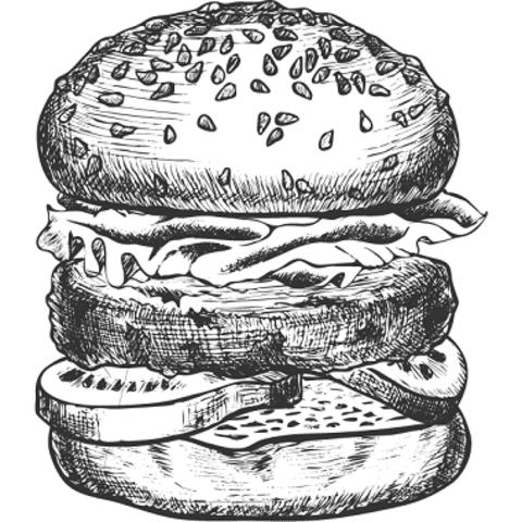 Бургер BIG з куркою