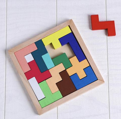 Деревянная игрушка-головоломка