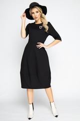 """<p><span>Это платье - самый простой способ изменить свои образ и настроение! Платье отрезное по талии и юбкой """"баллон"""" с карманами. (Длина: 44-106см; 46-107см; 48-108см; 50-109 см)</span></p>"""