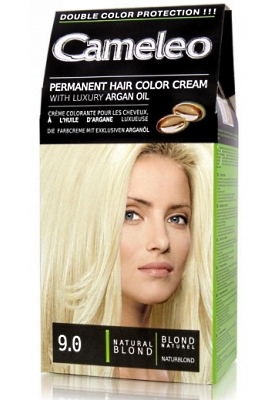 CAMELEO крем краска для волос тон 9.0 натуральный блондин (Delia cosmetics)