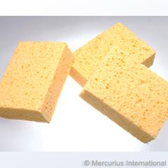 Губка натуральная для работы с жидкими красками (Mercurius)