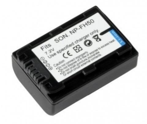 Аккумулятор Fujimi NP-FH50 (аналог Sony NP-FH50)