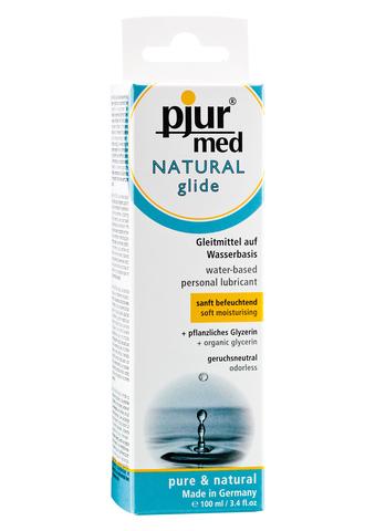 Увлажняющая смазка на водной основе Pjur Med Natural Glide, 100 мл.