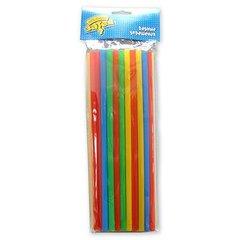Трубочки для коктейля разноцветные