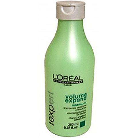 Шампунь для придания объема тонким волосам, loreal volume expand,250 мл.