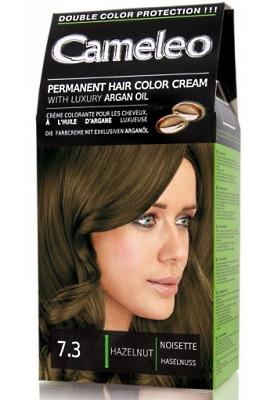 CAMELEO крем краска для волос тон 7.3 лесной орех (Delia cosmetics)