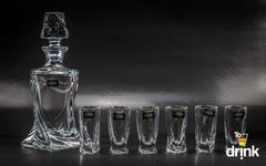 Набор для водки и ликера из 7 предметов «Quadro», фото 1