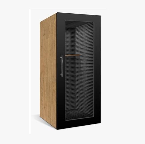 Офисная телефонная будка 20Дб , размеры  90х90х220