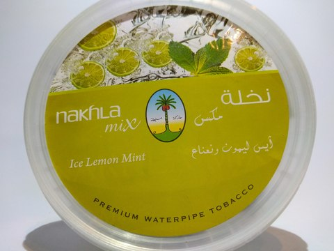 Табак для кальяна NAKHLA Ice Lemon Mint 250 gr