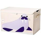 Сундук для хранения игрушек 3 Sprouts Морж (фиолетовый)