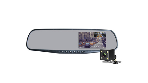 Видеорегистратор AXPER Mirror Simple Duo