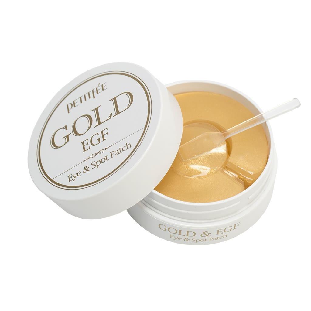 Гидрогелевые патчи для век - Petitfee Gold & EGF Eye & Spot Patch