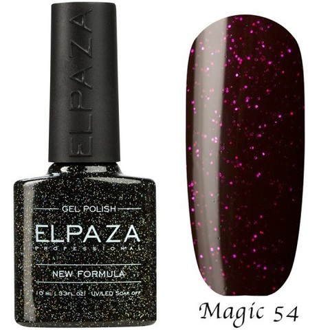 Гель лак Elpaza Magic,  СИРИУС 54