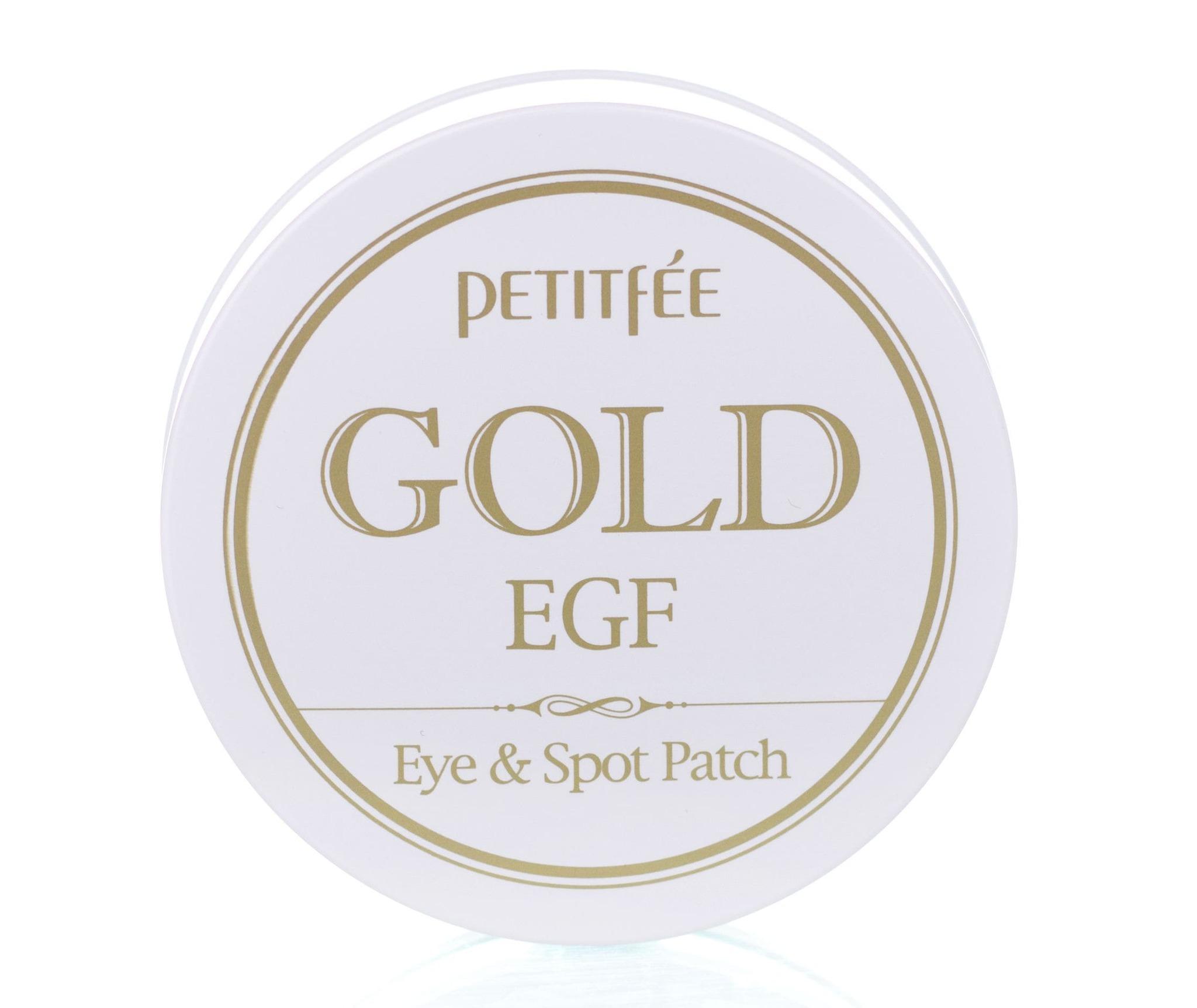 Гидрогелевые патчи для век с золотыми частицами и фактором роста EGF - Petitfee Gold & EGF Eye & Spot Patch