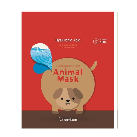 BERRISOM Animal Маска тканевая с гиалуроновой кислотой Animal mask series - Dog