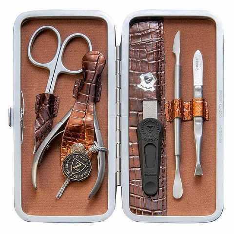 Маникюрный набор профессиональный из 5 предметов Zinger zMSFE 501 SM
