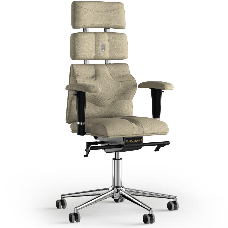 Кресло KULIK SYSTEM PYRAMID Ткань с подголовником без строчки