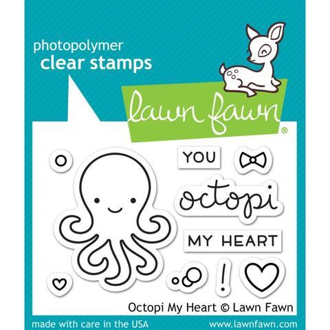 Набор штампов- Octopi My Heart