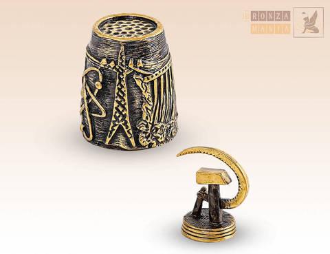 наперсток Серп и молот - СССР с магнитом