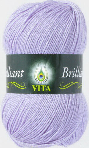 Пряжа Brilliant Vita 4994 светло-сиреневый фото
