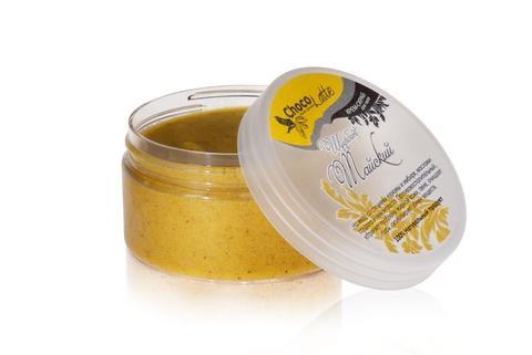 Крем-скраб для тела Щербет Тайский (на меду с:имбирь,куркума,лемонграсс,сандал),300гр ТМChocoLatte