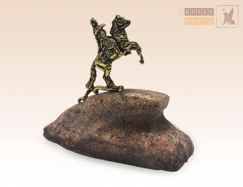 фигурка Медный всадник малый - Гранит