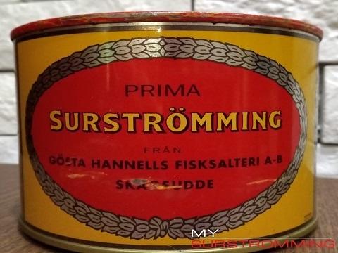 Сюрстремминг Röda Ulven в банке 850 грамм