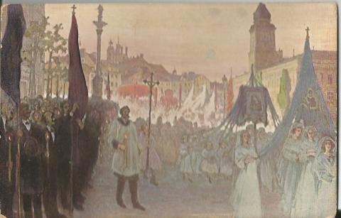 К. Стабровский. Варшава