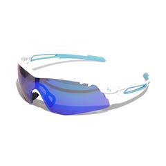 Очки солнцезащитные 2K S-15002-G  (белый глянец / зелёные revo)