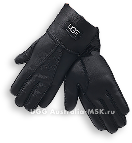 UGG Women's Glove Metallic Black