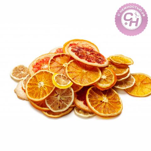 Апельсин сушеный натуральный, 1 шт.